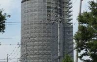 高架水槽改修工事