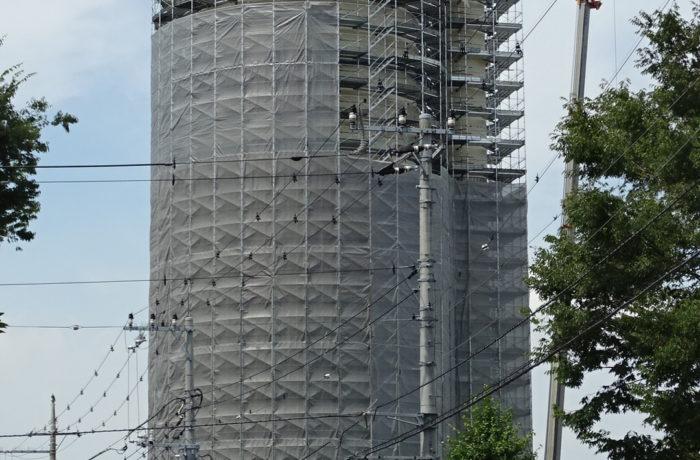 高架水槽補修工事